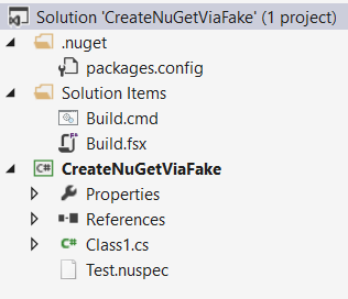 Code Inside Blog | FAKE: Create NuGet Packages without