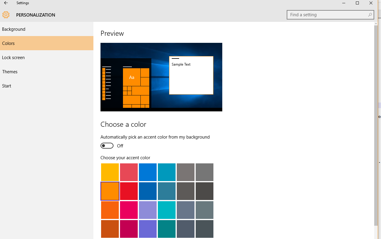 Net web get the windows 10 or 8 accent color in wpf for What is accent color