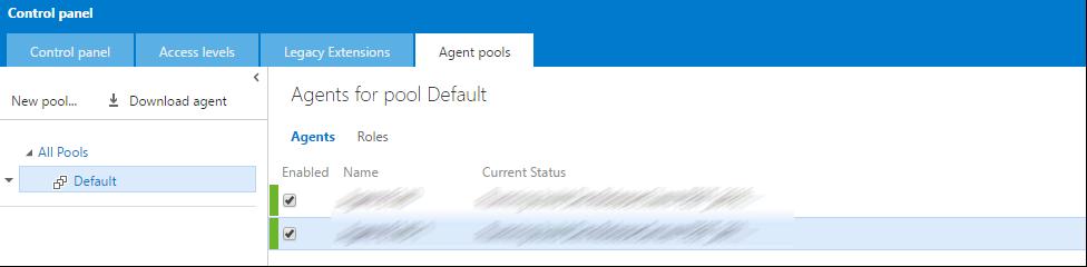 TFS Build Agents