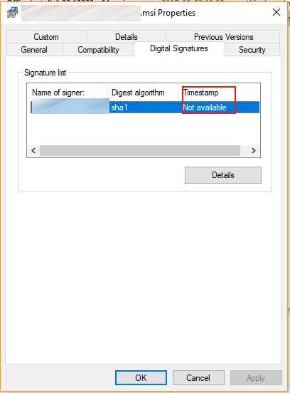 Code Inside Blog | Signing with SignTool exe - don't forget