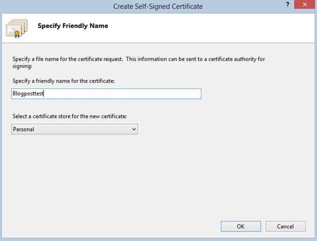 Code Inside Blog | Zertifikate finden, erstellen und exportieren